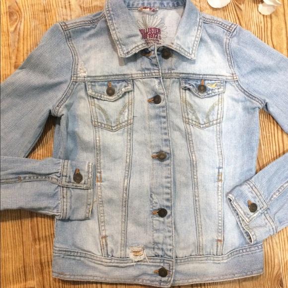 Hollister Jackets & Blazers - Hollister Jean Jacket Size Small